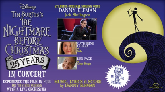 Tim Burton's The Nightmare Before Christmas Live in Concert with Danny Elfman